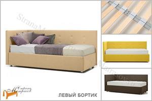 Perrino - Кровать София (левая) с основанием