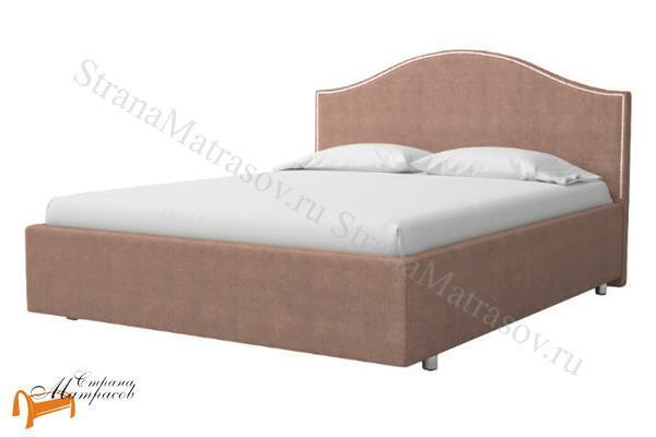 ProSon Кровать Classic 1 Large , классик, экокожа, черный, коричневый, белый, бежевый, кремовый, серый