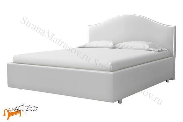 ProSon Кровать Classic 1 с подъемным механизмом , классик, экокожа, черный, коричневый, белый, бежевый, кремовый, серый