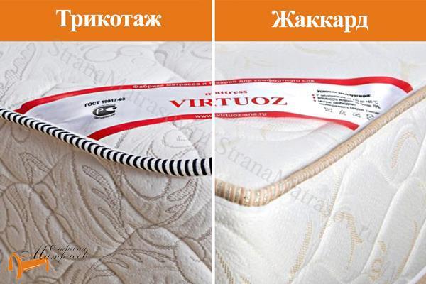 Virtuoz Матрас Соло TFK 500 (3 зоны) , трикотаж, жаккард, виртуоз, чехол